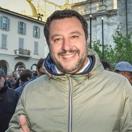 Salvini: «In lista nomi locali  Con noi meno tasse e lavoro»