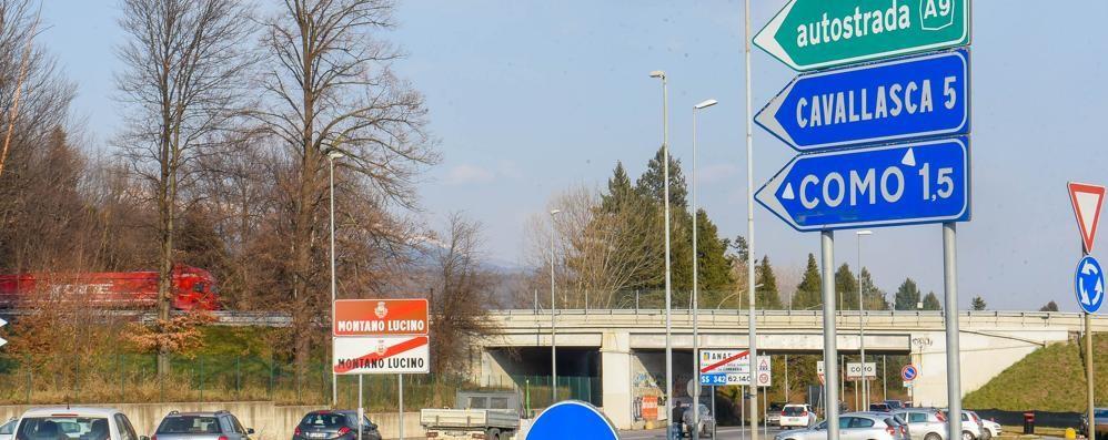 Un'uscita dell'autostrada per l'ospedale  San Fermo: «Non  se ne parla»