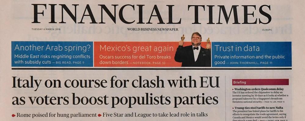 Elezioni: Ft, Italia invia un segnale schiacciante a élite