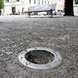Piazza Roma,  la rabbia del progettista  «L'hanno abbandonata»