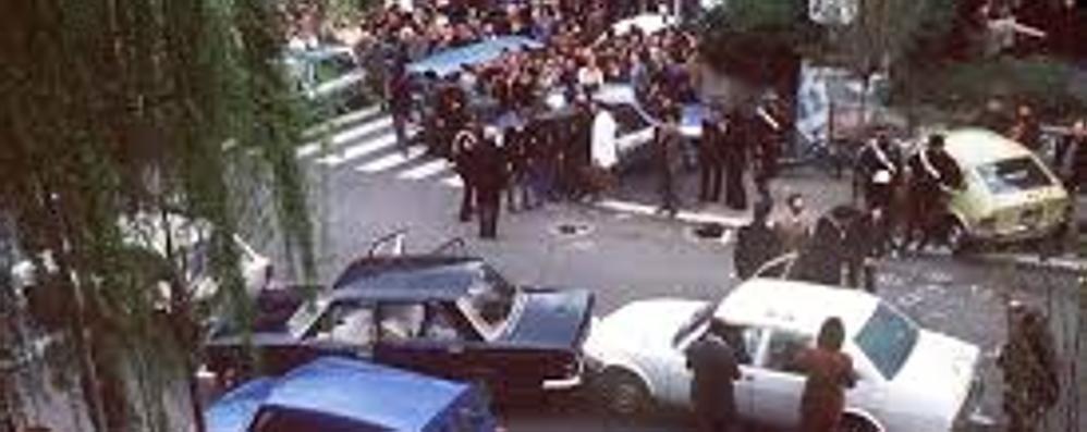 40 anni fa il sequestro Moro  e la strage di via Fani  La reazione di Como
