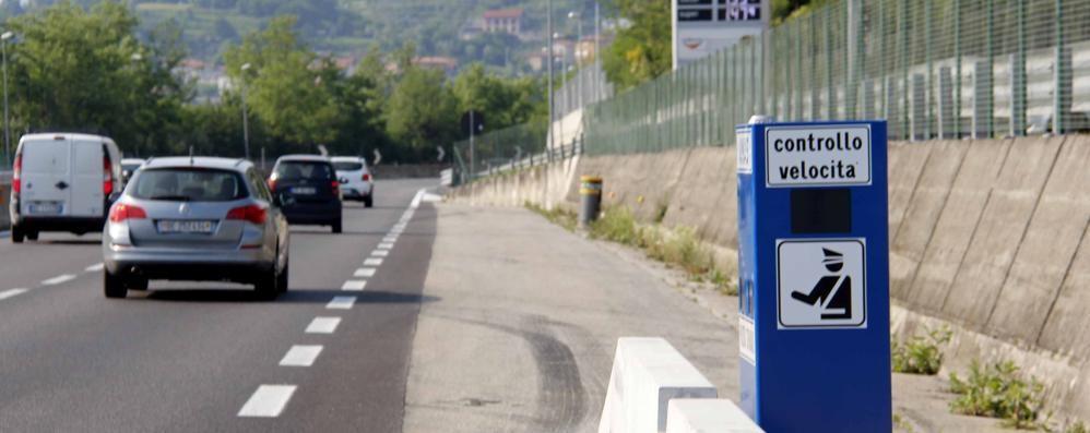 Autovelox sulla Ss36, da lunedì si parte  La Stradale punta sulla formula roulette