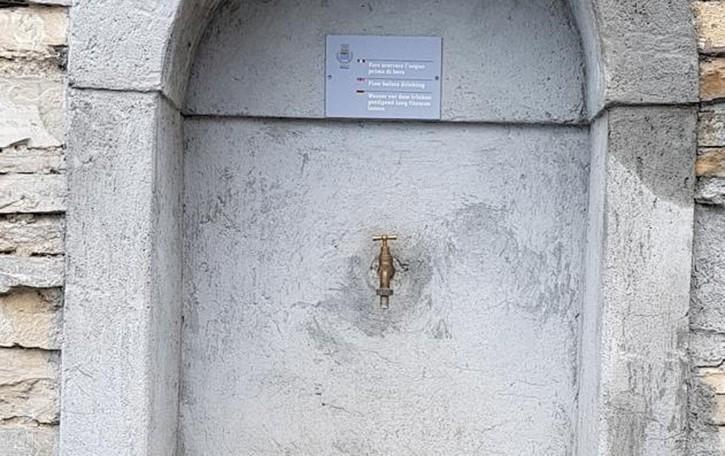 Inquinamento alle fontanelle  Acqua da bollire a Moltrasio