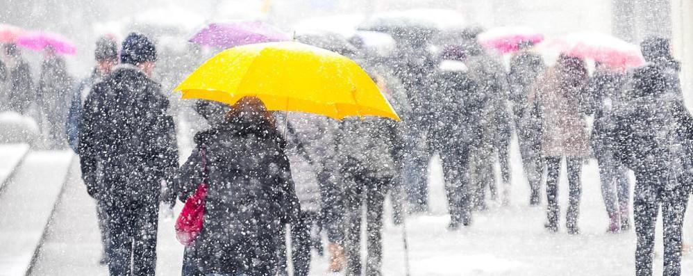 Neve, il peggio è passato  Ora tocca alla pioggia    Le previsioni