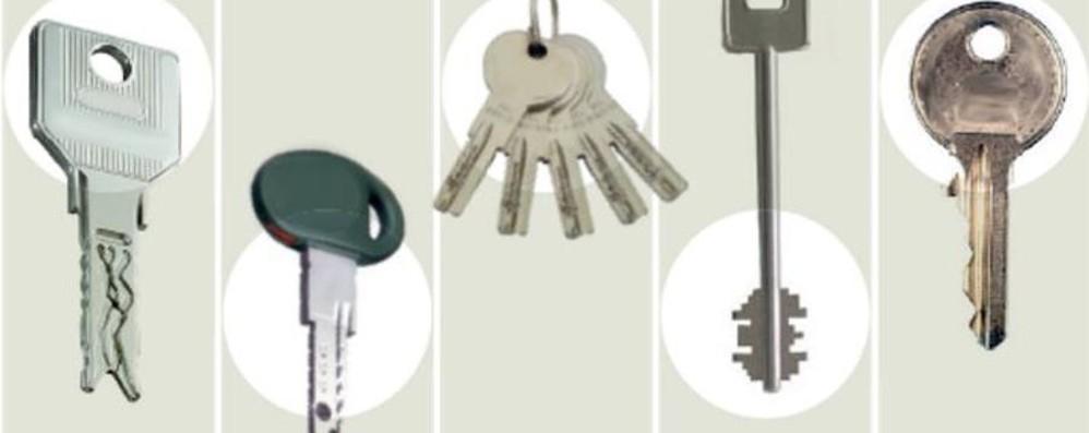 """Sicurezza, la chiave migliore  è quella a """"coda di rondine"""""""