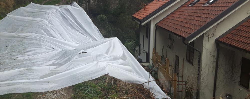 Valmadrera, smottamento nella notte  Tre famiglie evacuate, sono in albergo