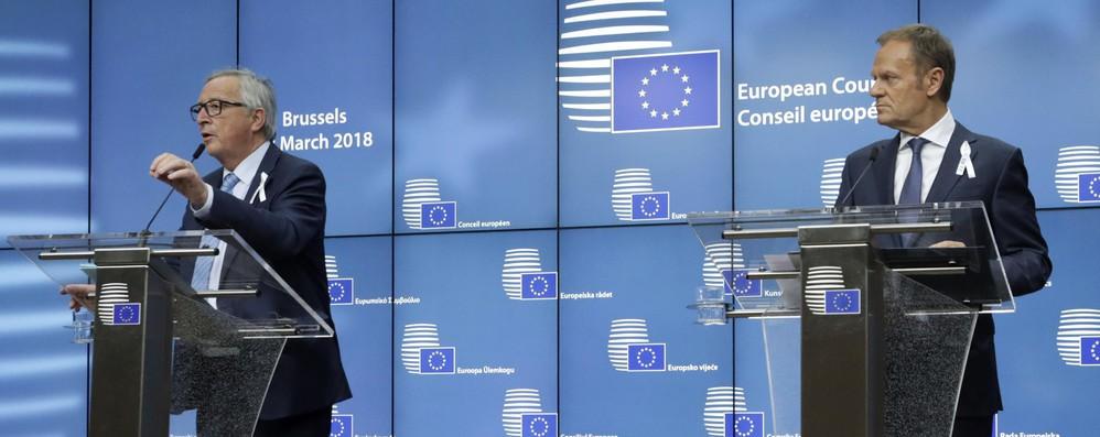 Dazi: Tusk chiede esenzione permanente per Ue