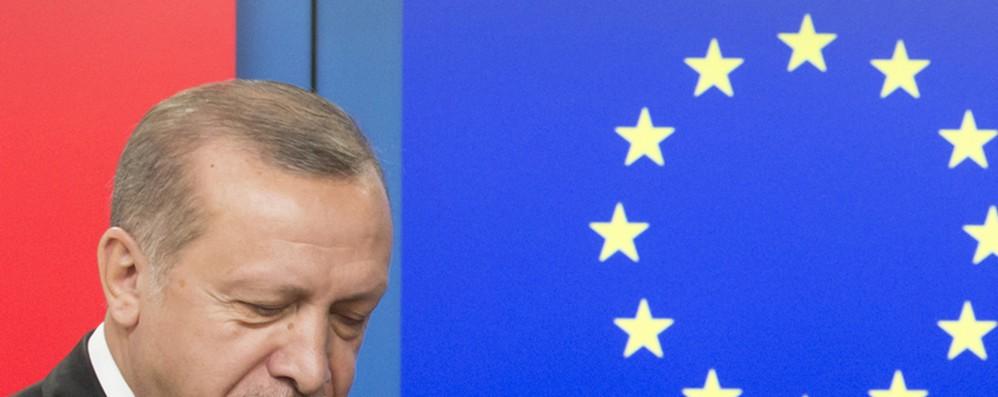 Turchia: Ue condanna azioni illegali nel Mediterraneo