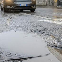 Dopo la nevicata ancora più buche  La prima mappa dei disagi