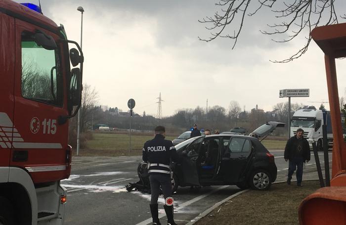 I rilievi sul luogo dell'incidente