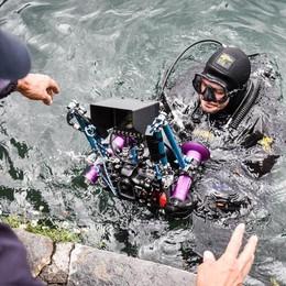 I sub tornano a Villa Pizzo  A caccia dei misteri del lago