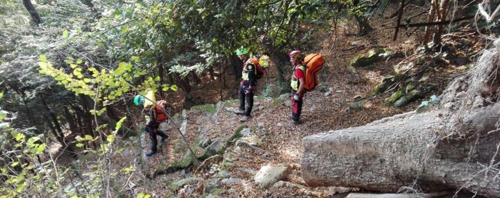 Albavilla, escursionista infortunato  Il Soccorso alpino interviene sul Bolettone