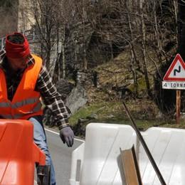 Frana, chiusa la 36: isolati Madesimo e Campodolcino