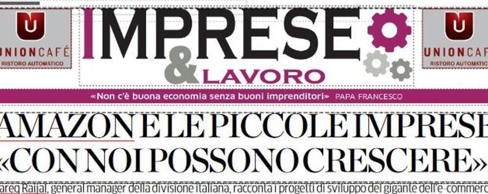 """Torna """"Imprese&Lavoro""""  Parla il gm italiano di Amazon"""
