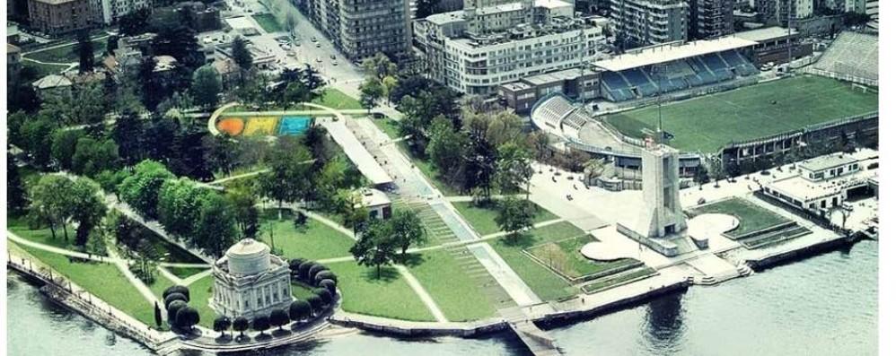 Giardini a lago, cambia il progetto  Via i campi sportivi e meno acqua