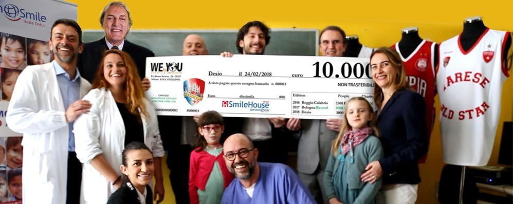 Old Star Game, un'altra vittoria Diecimila euro per Operation Smile