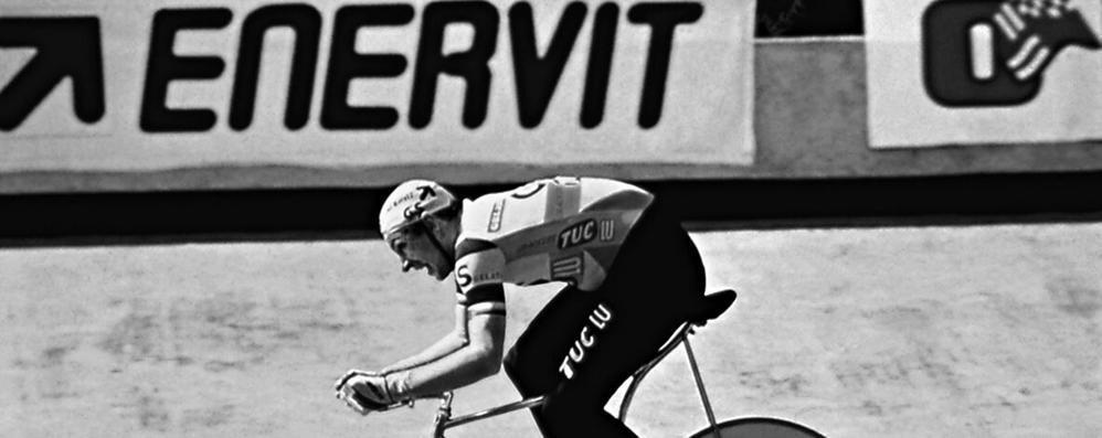 Enervit e il primato di Moser  «Così abbiamo cambiato lo sport»
