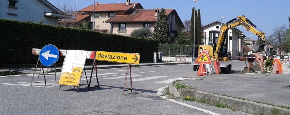 Mariano, asfaltature con polemiche  «Strada chiusa senza avvisarci»