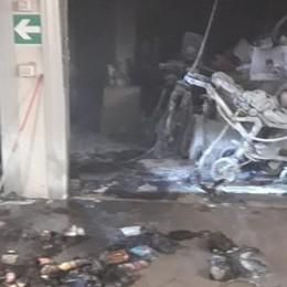Lomazzo: box prende fuoco  Ingenti i danni