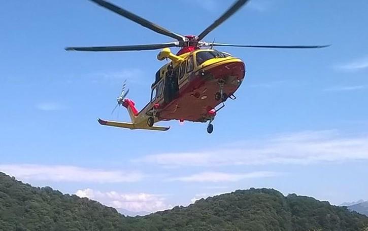 Elicottero E Ambulanza : Porlezza la provincia di como notizie e