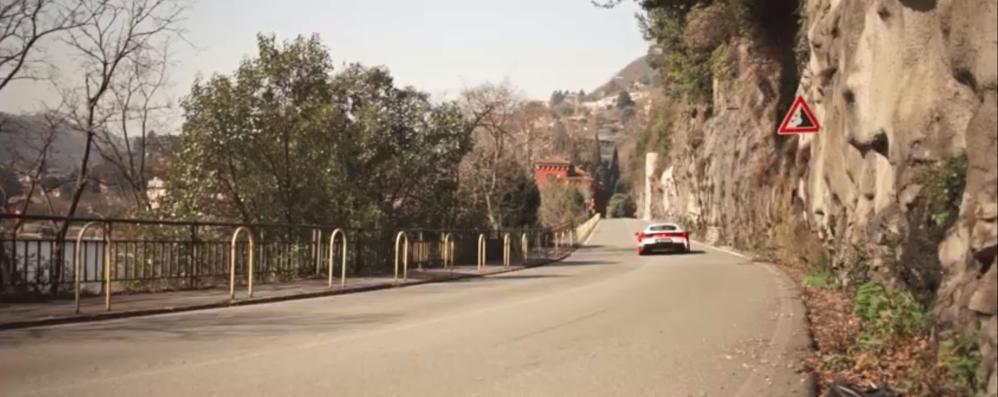 Evento Michelin a Brescia  Lo spot è girato a Cernobbio   GUARDA IL VIDEO