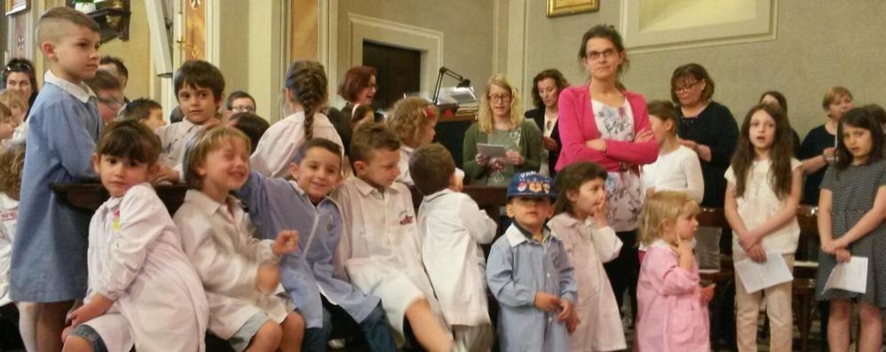 Oltrona, festa per i 110 anni  della scuola materna