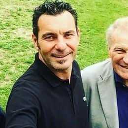 """""""Golasso"""" di Altafini al centro sportivo  Ospite degli ex presidenti dell'Astro"""