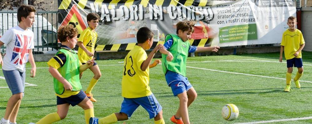 Como: Calcio e Volley  A Sant'Agata i tornei  Taborelli e Fiorelli