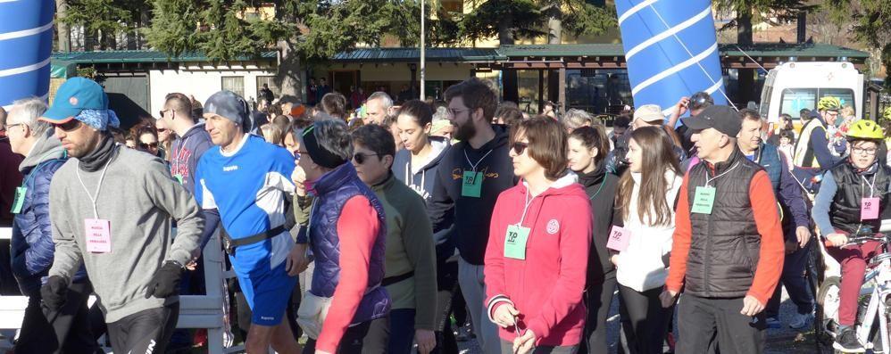 Cristina Mazzotti, il ricordo  Marcia dei 500 a Eupilio