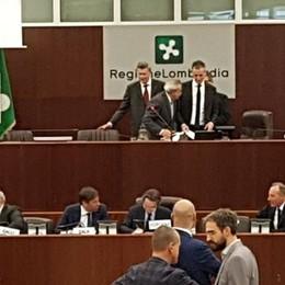 Regione, seduta del consiglio Il comasco Fermi  presidente