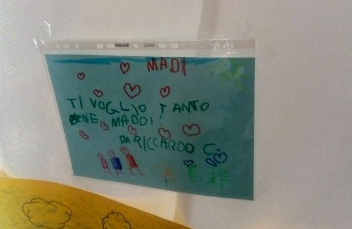 I messaggi dei compagni dell'asilo