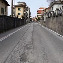Maslianico, tempo di asfaltature  Si inizia da via XX Settembre