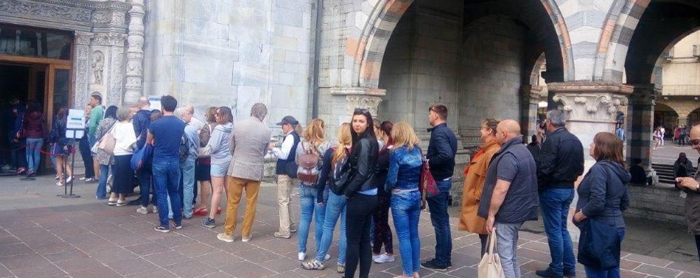 Duomo, che code: 5mila in due giorni