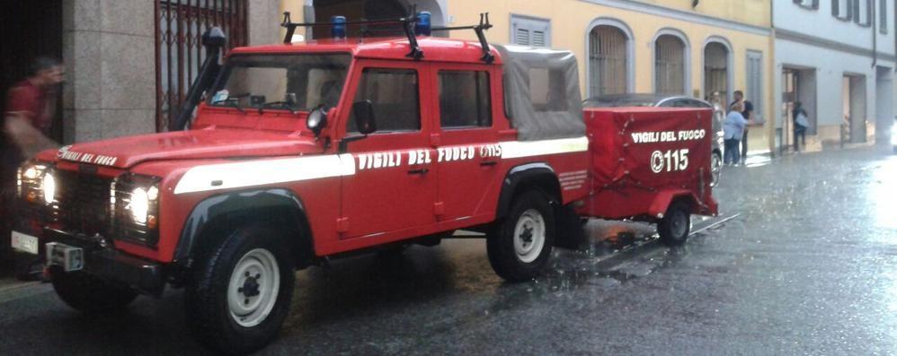 Allagamenti a Mariano  I pompieri all'ospedale