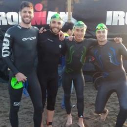 Lariani all'Ironman di Marbella  «Questi sono uomini d'acciaio»