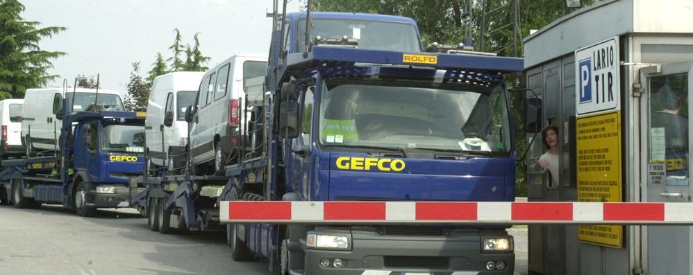 Emergenza camion fuori dall'A9  «Lario Tir diventerà più grande»
