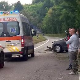 Incidente: gravissimo  motociclista di Canzo