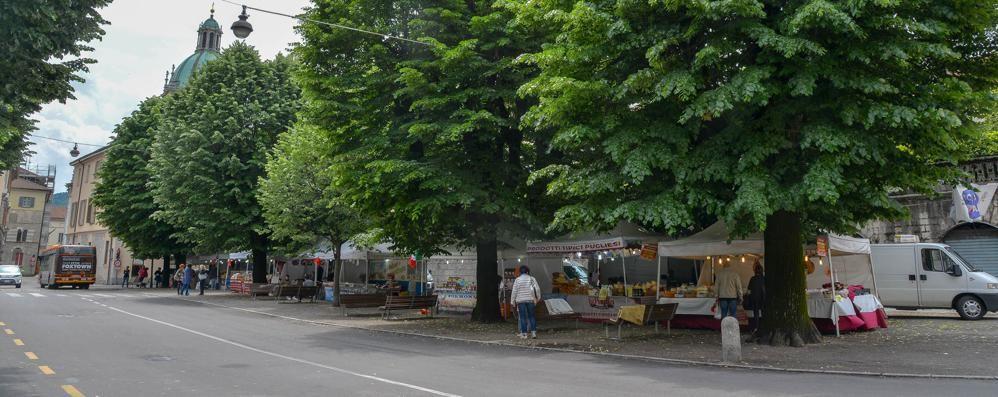 Piazza roma mercatino deserto la location l hanno for Il mercatino roma