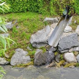 «Scarichi non autorizzati nel torrente»  La Provincia diffida il Sant'Anna
