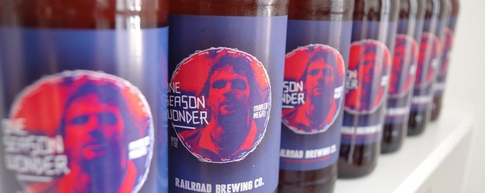L'ex bomber diventa una birra Negri giovedì arriva a Como