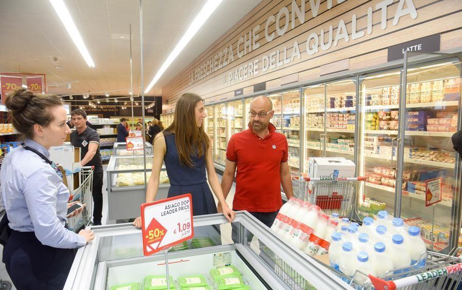 Leader Price Italia  Aperto a Como  il primo supermercato