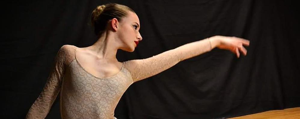 Cantù, Micol e il sogno del balletto  Andrà al Conservatorio di Praga