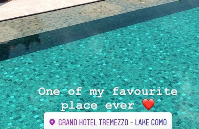 Valentina Ferragni Grand Hotel Tremezzo
