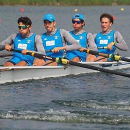 Europei Juniores: Castelnovo torna con un remo tutto d'oro