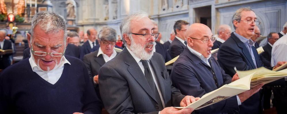 Mille cantori in Duomo  per il convegno diocesano (video)