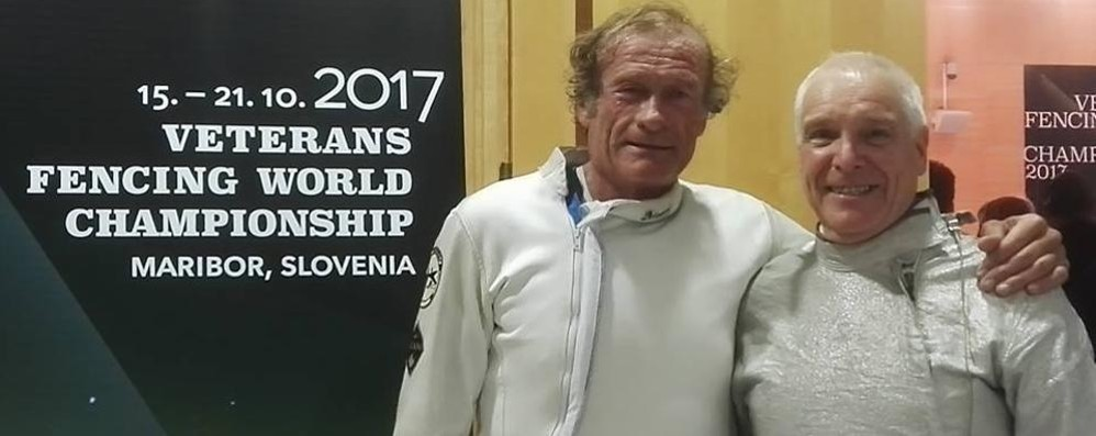 Campionati italiani Master Quattro comaschi in pedana
