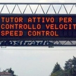 "Spenti tutti i ""Tutor""  Basta multe in autostrada"