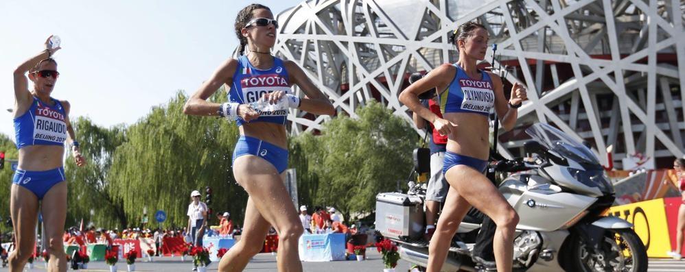 Mondiale di marcia a squadre Giorgi guida le azzurre in Cina