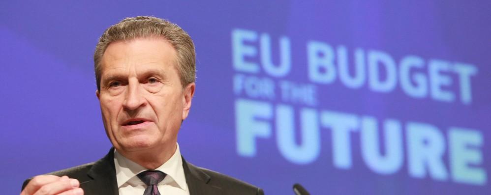 Oettinger, mercato indurrà Italia a non votare populisti