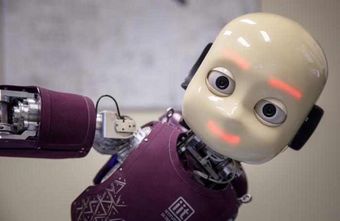 Icub, il robot umanoide
